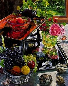 Still Life Painting by Janet Fish American Painter