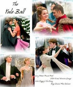 The Yule Ball    Harry Potter  Parvati Patil  Viktor Krum  Hermione Granger  Cedric Diggory  Cho Chang  Roger Davies  Fleur Delacour