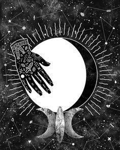 Lunar Phases - Waning Gibbous, by Camille Chew