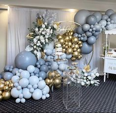 Balloon Backdrop, Balloon Decorations Party, Balloon Wall, Balloon Garland, Birthday Party Decorations, Baby Shower Decorations, Deco Baby Shower, Baby Shower Balloons, Shower Party
