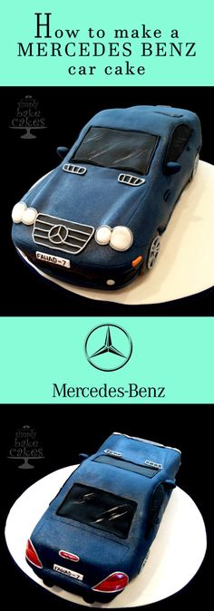 Mercedes logo cake cakes pinterest torten torte f r for Mercedes benz cake design