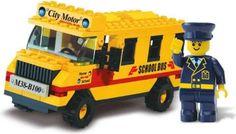 Sluban M38-B100 Городская серия: Школьный автобус