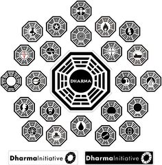 Dharma Initiative Patches.