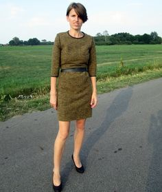 WOOL DRESS NOT ONLY FOR AUTUMN