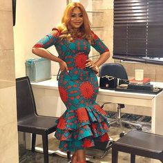 """Today we bring to you Foxy Ankara Styles."""" These Ankara styles are quite awesome, and it's designs are amazing. We believe that you would all be amazed on seeing these foxy ankara styles for Check them out and have a wonderful week ahead. African Maxi Dresses, African Fashion Ankara, Ankara Gowns, Latest African Fashion Dresses, African Dresses For Women, African Print Fashion, African Attire, Ankara Skirt, African Prints"""