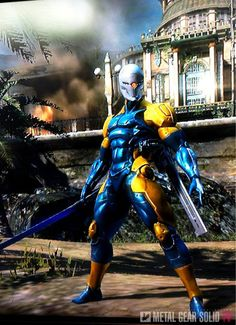 "زي لشخصية ""Gray Fox"" في Metal Gear Rising: Revengeance"