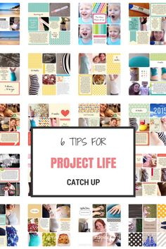 9 Tips for Project Life Catch Up - Simplify Create Inspire - Sometimes life gets in the way and we fall behind on our memory keeping and its hard getting back o -