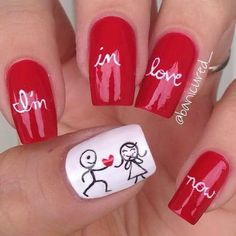# I'M IN LOVE NOW NAILS