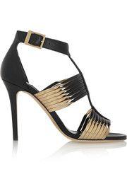 Jimmy ChooLava leather sandals