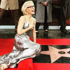 Gillian Anderson receives a star on the Hollywood Walk of Fame, Jan. Hollywood Walk Of Fame, Hollywood Boulevard, Gillian Anderson, Resse Witherspoon, Manequin, Marriage Material, Popular Series, Girls With Glasses, Actresses