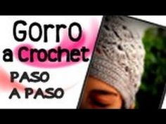 Gorro en Crochet (Ganchillo) - Parte 1 de 2
