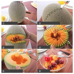 A tool that'll destroy a melon in the best possible way (by carving and balling it).