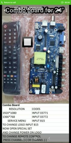 Combo China board code in 2019 Electronics Basics, Hobby Electronics, Electronic Circuit Projects, Electronic Engineering, Sony Led Tv, Computer Maintenance, Tv Panel, Led Board, Lg Tvs