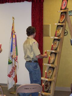 boy scout court of honor ideas Scout Mom, Cub Scouts, Girl Scouts, Eagle Scout Project Ideas, Boy Scouts Merit Badges, Eagle Scout Ceremony, Arrow Of Lights, Scout Camping, Camping Crafts