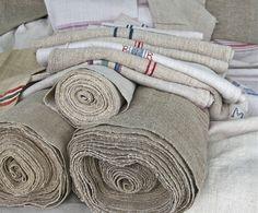 antique hemp and linen