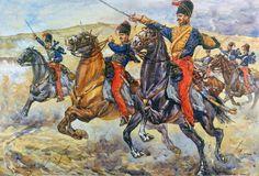 British Hussars during the Crimean War