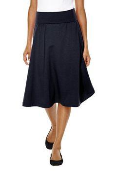 foldover knee-length skirt $34.50