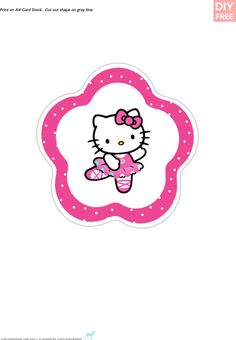 Cute hello Kitty party printables