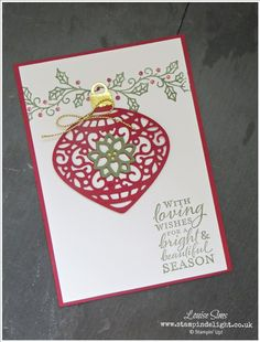 Love the Embellished Ornaments bundle - available to buy from 1st September 2015.