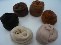 Spinning Wool Tops Choose From 6 Shades Felting Heidifeathers® Baby Alpaca