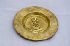 Antique Solid Brass Dartmoor Pixie Pin Dish Ashtray by BoldasBrassBoutique on Etsy Dartmoor, Pixie, Sit On Top, North Yorkshire, Solid Brass, Handmade Items, Antiques, Etsy, Kitsch
