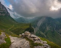 Appenzell Inner-Rhoden, Canton of Appenzell Inner-Rhodes. What a beautiful hike!