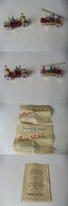 Wind-up Toys 74986: Vintage Ibi Alicante Espana Paya Replica Tin Toys #99 And 100 With Coa -> BUY IT NOW ONLY: $45 on eBay!
