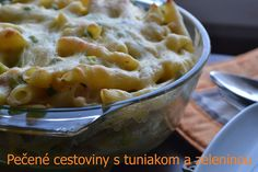 Pecene cestoviny s tuniakom Mashed Potatoes, Macaroni And Cheese, Ale, Food And Drink, Ethnic Recipes, Whipped Potatoes, Mac And Cheese, Smash Potatoes, Ale Beer