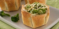 La Salteña Recetas. Canastitas Souffle de Brócoli.