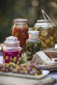 A typical pickle buffet by Smoke and Pickles Catering