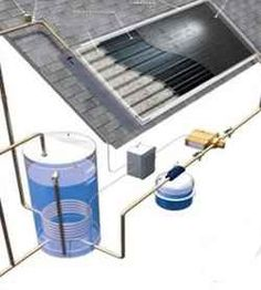 Build your own solar hot water system