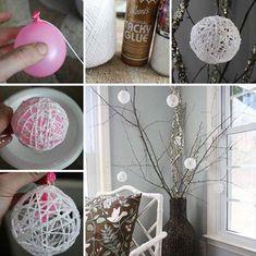 33 Egyszerű saját készítésű dekoráció ~ Készítsd Otthon