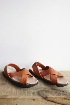 Brother Vellies Guava Tyre Sandal in Bovine   Oroboro Store   Brooklyn, New York