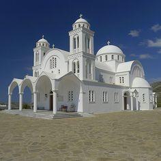 The Byzantine Church of Agia Triada, Paros Island