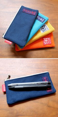 Canvas pen case(small)