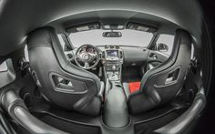 Inside, the new 370Z receives custom made black and red Recaro racing seats made especiall...