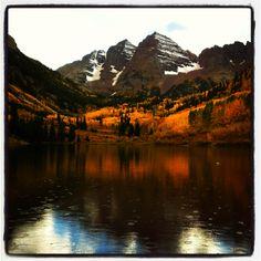 Maroon Bells, Aspen Colorado.