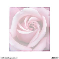 pink rose notepad to leave sweet notes to your other half.