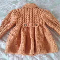 Пальто для маленькой модницы Baby Born, Baby Knitting, Knits, American Girl, Diy And Crafts, Dolls, Sewing, Children, Creative