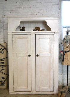 Painted Cottage Handmade Farmhouse Cabinet by paintedcottages