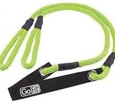 Make this stretch rope a vital part of your fitness training program! It's easy to grab and soft to the touch for comfort. Add the included exercises from pro athlete trainer Mark Verstegen to get fit to your core. From GoFit. As always, please consult your personal physician before beginning any diet or exercise program. Take a realistic approach: If you work consistently and follow the program, you maximize your results.