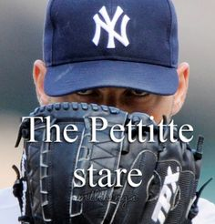 Former Yankees pitcher Andy Pettitte had his No. 46 retired during a special Andy Pettitte Day ceremony on Sunday, Aug. 2015 before the Yankees hosted the Cleveland Indians at Yankee Stadium. Yankees Baby, Damn Yankees, New York Yankees Baseball, Baseball Pics, Baseball Quotes, Baseball Stuff, Equipo Milwaukee Brewers, Andy Pettitte, Mlb