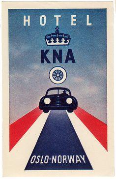 Hotel KNA ~ Oslo ~ Norway