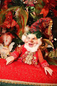 Christmas Whimsical Christmas, Christmas Fairy, Santa Christmas, Christmas Carol, Christmas Crafts, Christmas Decorations, Mark Roberts Elves, Santa Costume, Elves And Fairies