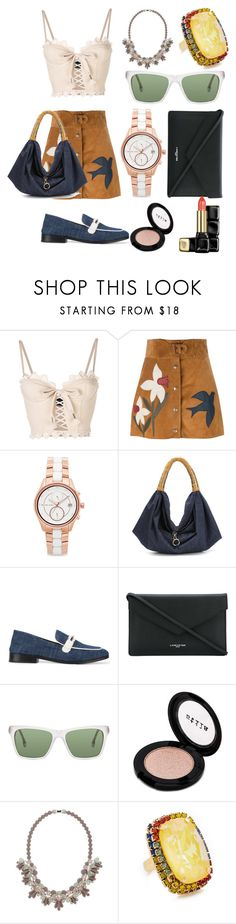 """Fashion for you"" by gadinarmada-1 ❤ liked on Polyvore featuring Puma, RED Valentino, Michael Kors, Xaa, NewbarK, Lancaster, Steven Alan, Stila, Ek Thongprasert and Elizabeth Cole"