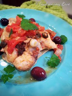 Pollo olive e capperi