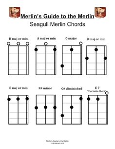 seagull merlin chords - Google Search