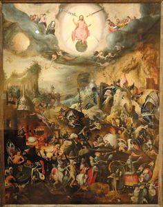 Last Judgment, Jan Mandyn, Flemish, c. 1550