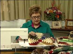 The Foundation Paper Piecing DVD Workshop with Pauline Rogers is ideal for learning the art of patchwork. Using the foundation piecing technique to piece blocks gives you the ability to construct complicated patterns easily and accurately. This DVD workshop makes it     possible for anyone to learn quilt making from their very own home.    In th...