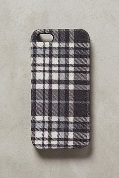 Neutral Plaid iPhone 5 Case - anthropologie.com #anthrofave